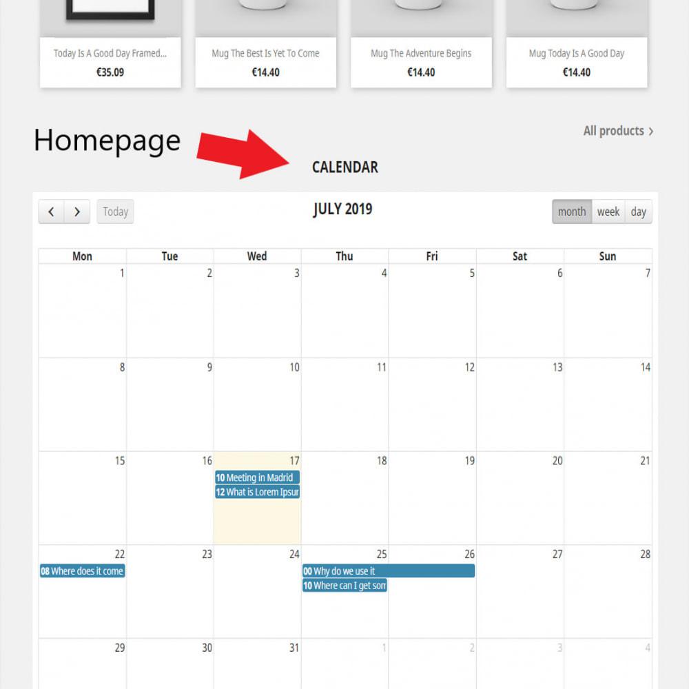 Calendario Completo.Modulo Calendario Completo De Eventos