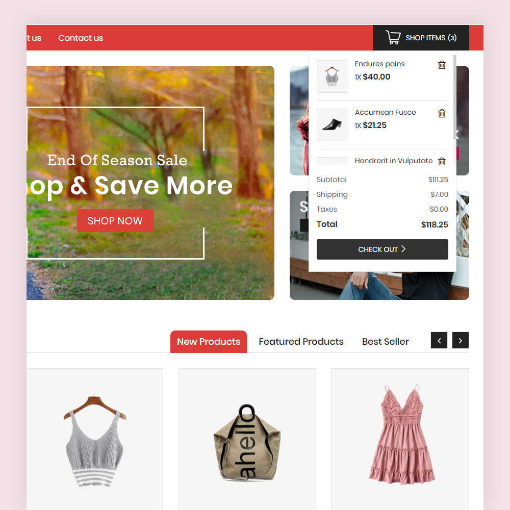 theme - Мода и обувь - Vonson Fashion Store - 4