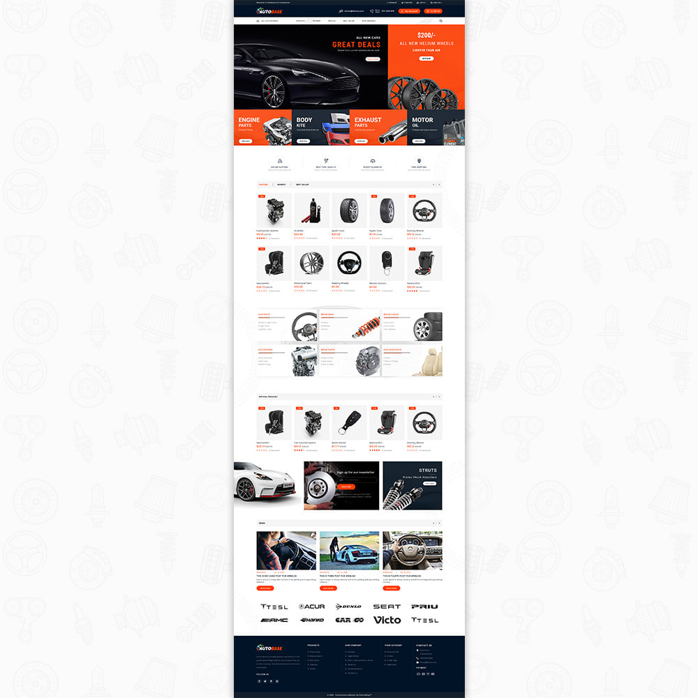theme - Carros & Motos - Autobase - The Best Supermarket Auto Store - 7