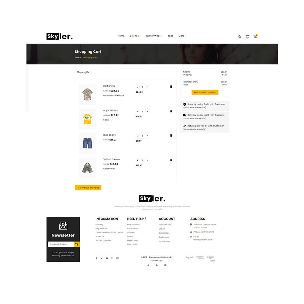 theme - Fashion & Shoes - Skyler Fashion Responsive Premium Store - 5