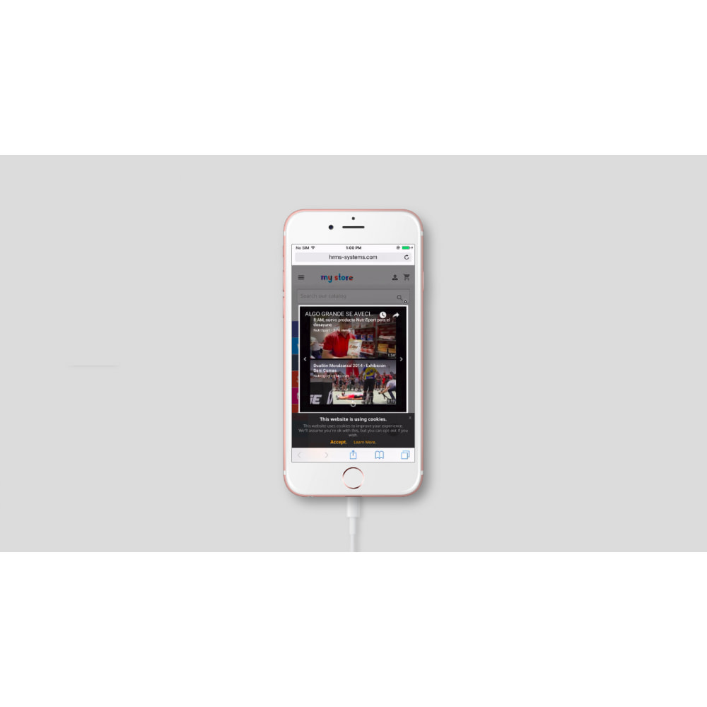 module - Vídeos & Música - Vídeo pop-up do YouTube - 3