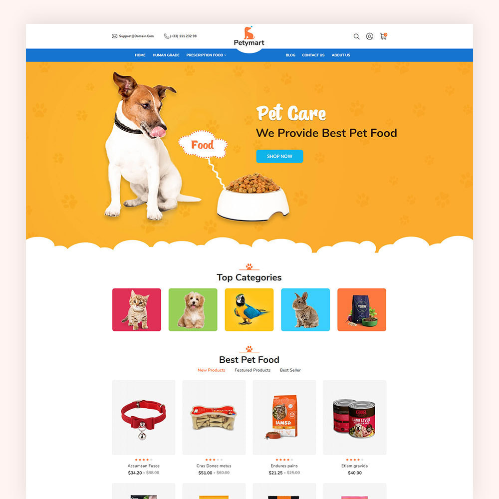 theme - Animals & Pets - Petymart Pet Store - 2