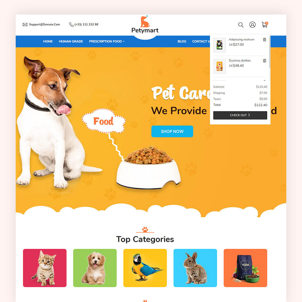 theme - Animaux - Petymart Pet Store - 5