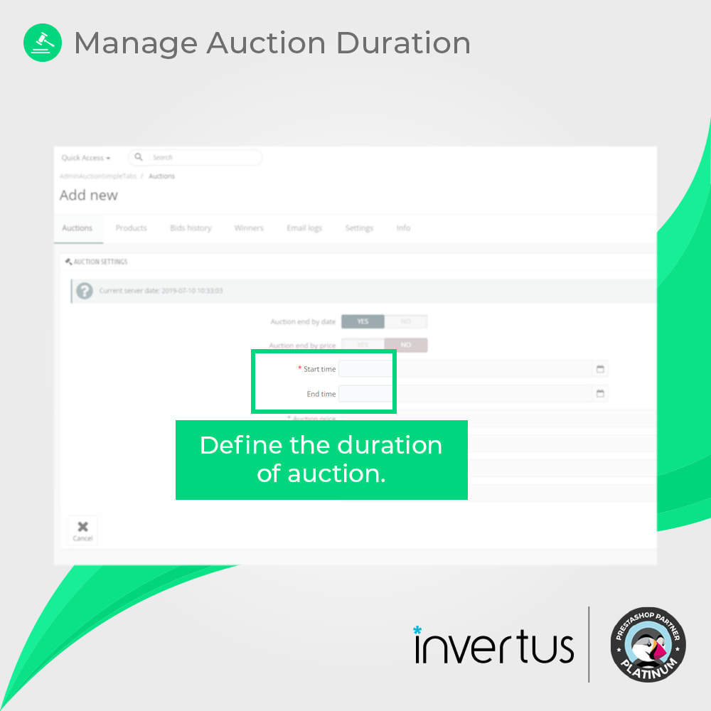 module - Auktionsseiten - Auction Simple - 5