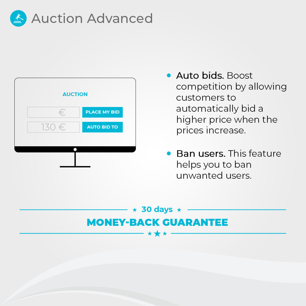 module - Auction Site - Auction Advanced - 2