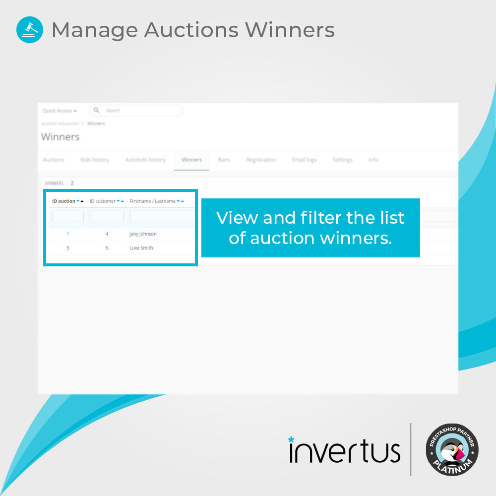 module - Web de Subastas - Auction Advanced - 10
