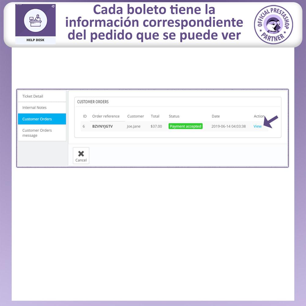 module - Servicio posventa - Mesa de ayuda - Sistema de gestión de soporte al client - 12