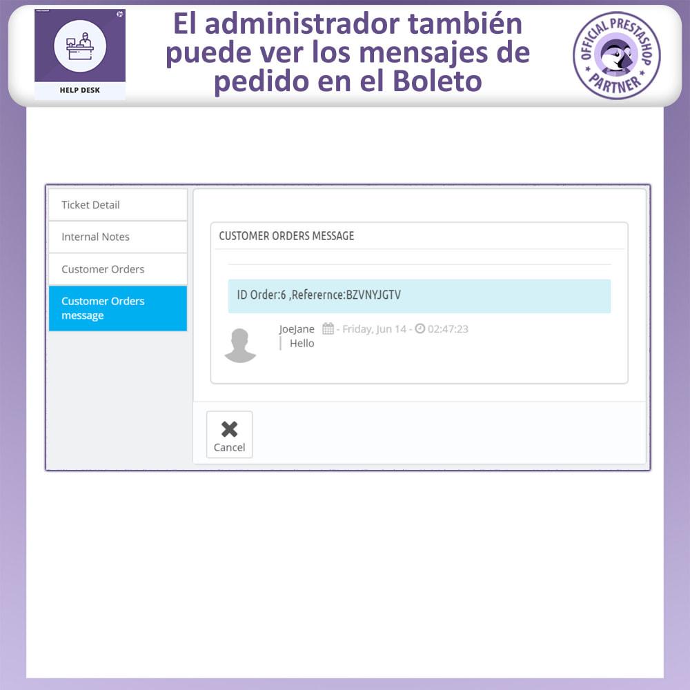module - Servicio posventa - Mesa de ayuda - Sistema de gestión de soporte al client - 13