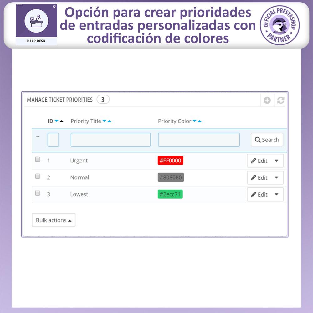 module - Servicio posventa - Mesa de ayuda - Sistema de gestión de soporte al client - 15