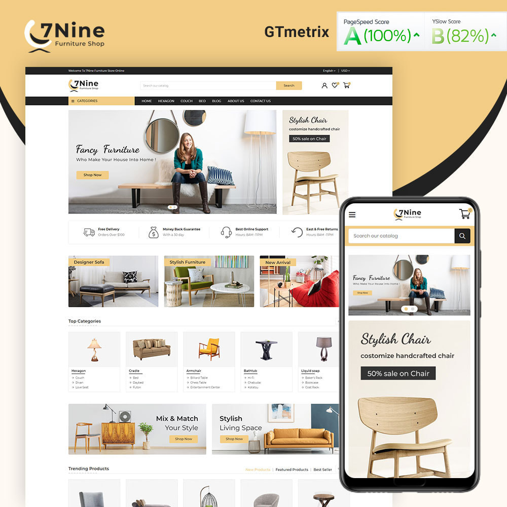 theme - Maison & Jardin - 7Nine Furniture Mega Store - 1