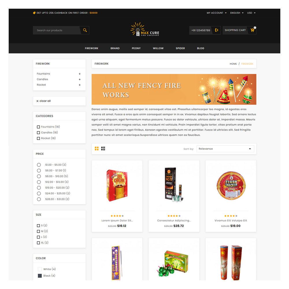 theme - Regalos, Flores y Celebraciones - Maxcure Fireworks Store - 3