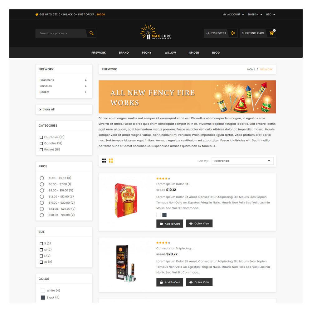 theme - Prezenty, Kwiaty & Uroczystości - Maxcure Fireworks Store - 4