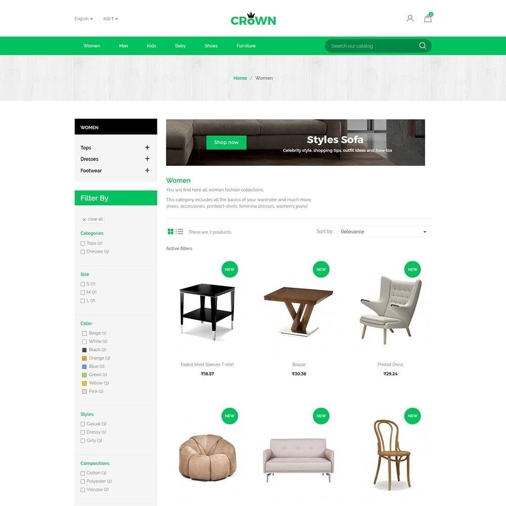 theme - Home & Garden - Interior Furniture - Decor Wood  Home Design Store - 3