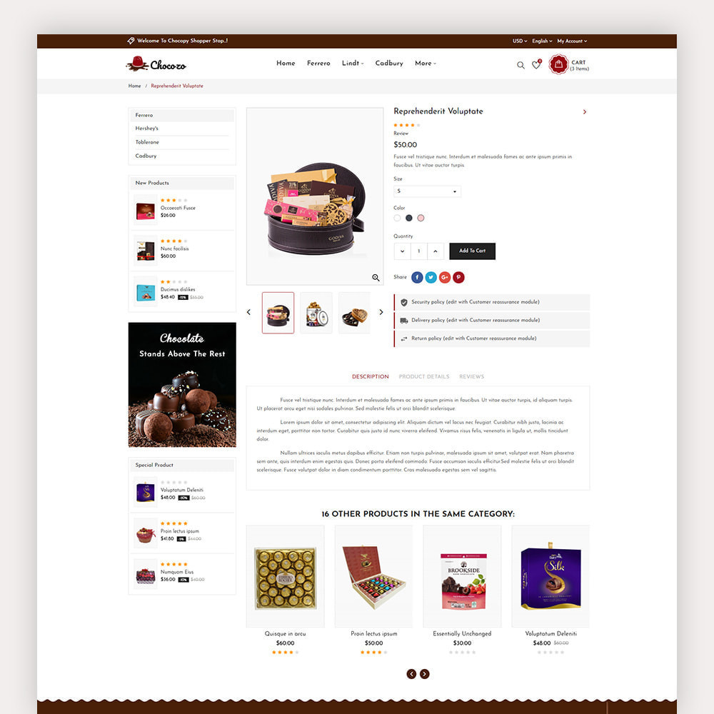theme - Gifts, Flowers & Celebrations - Chocozo Chocolates Store - 7
