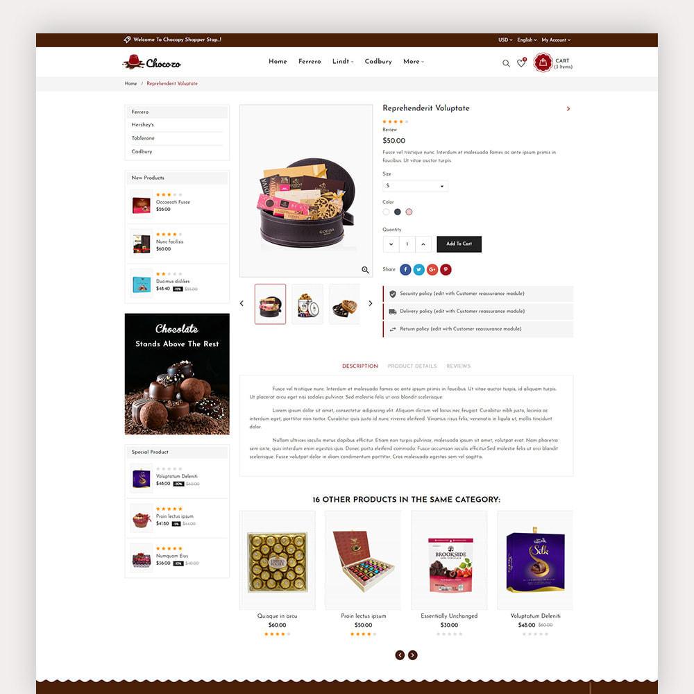theme - Cadeaux, Fleurs et Fêtes - Chocozo Chocolates Store - 8