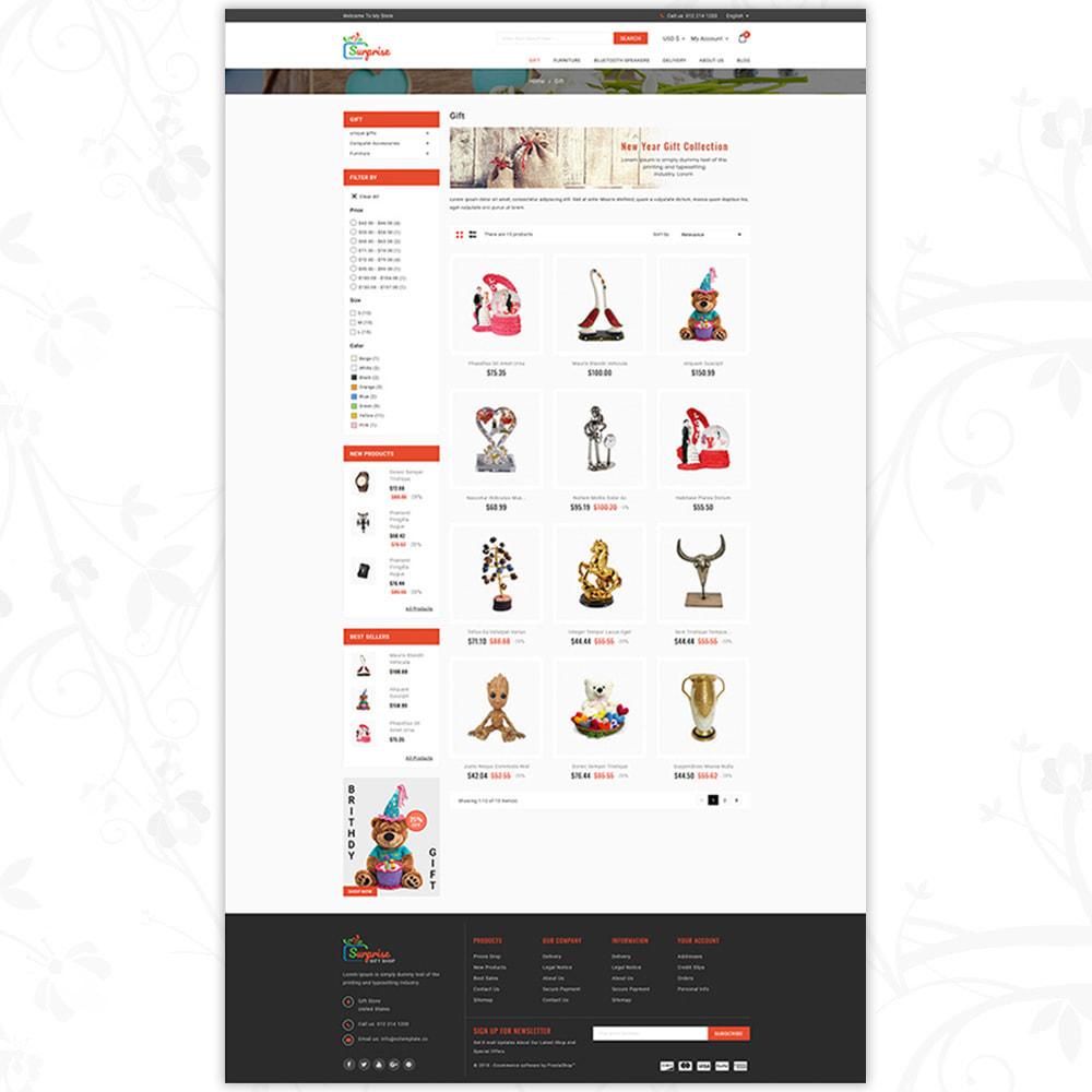 theme - Подарки, Цветы и праздничные товары - Surprise - Gift Store - 3