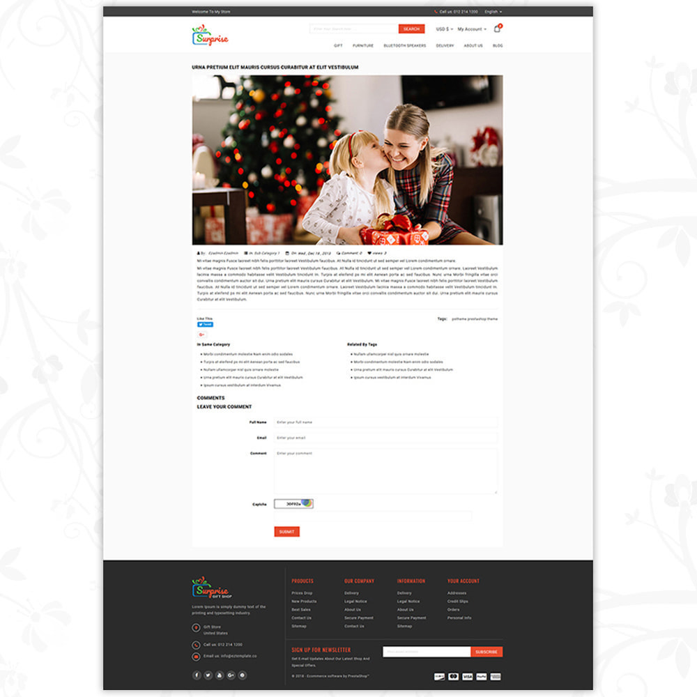 theme - Подарки, Цветы и праздничные товары - Surprise - Gift Store - 6
