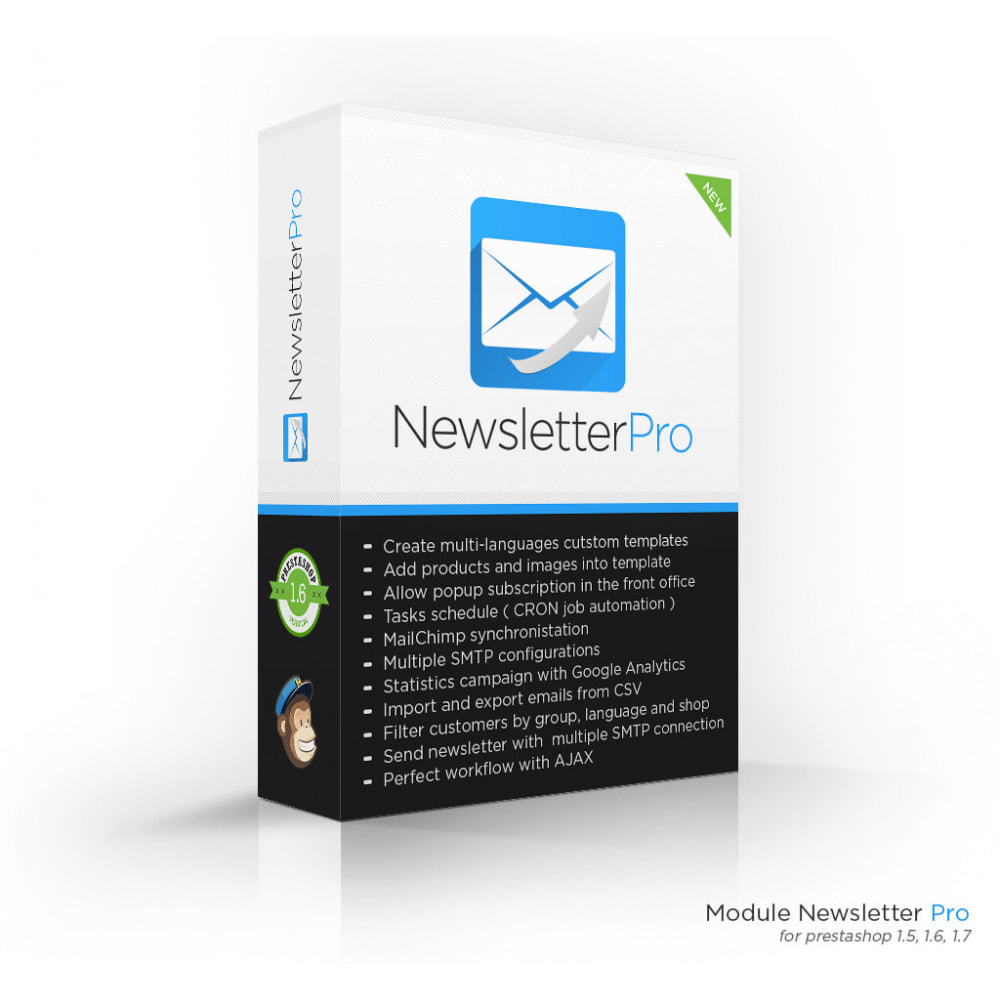 module - Boletim informativo & SMS - Newsletter Pro - 1