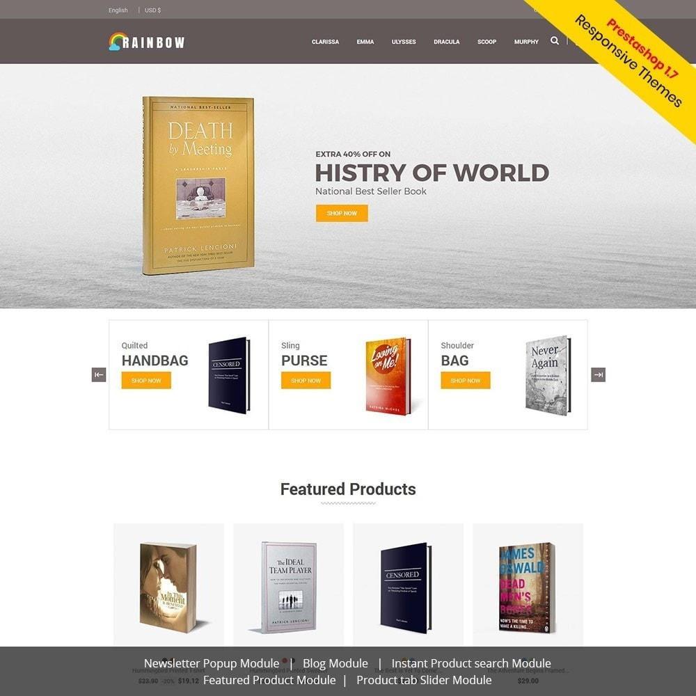 theme - Arte y Cultura - Rainbow Book - Tienda de libros electrónicos - 2