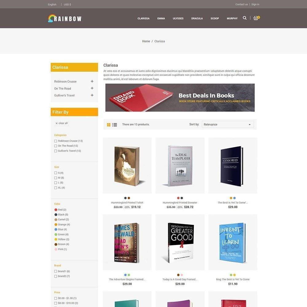 theme - Arte y Cultura - Rainbow Book - Tienda de libros electrónicos - 4
