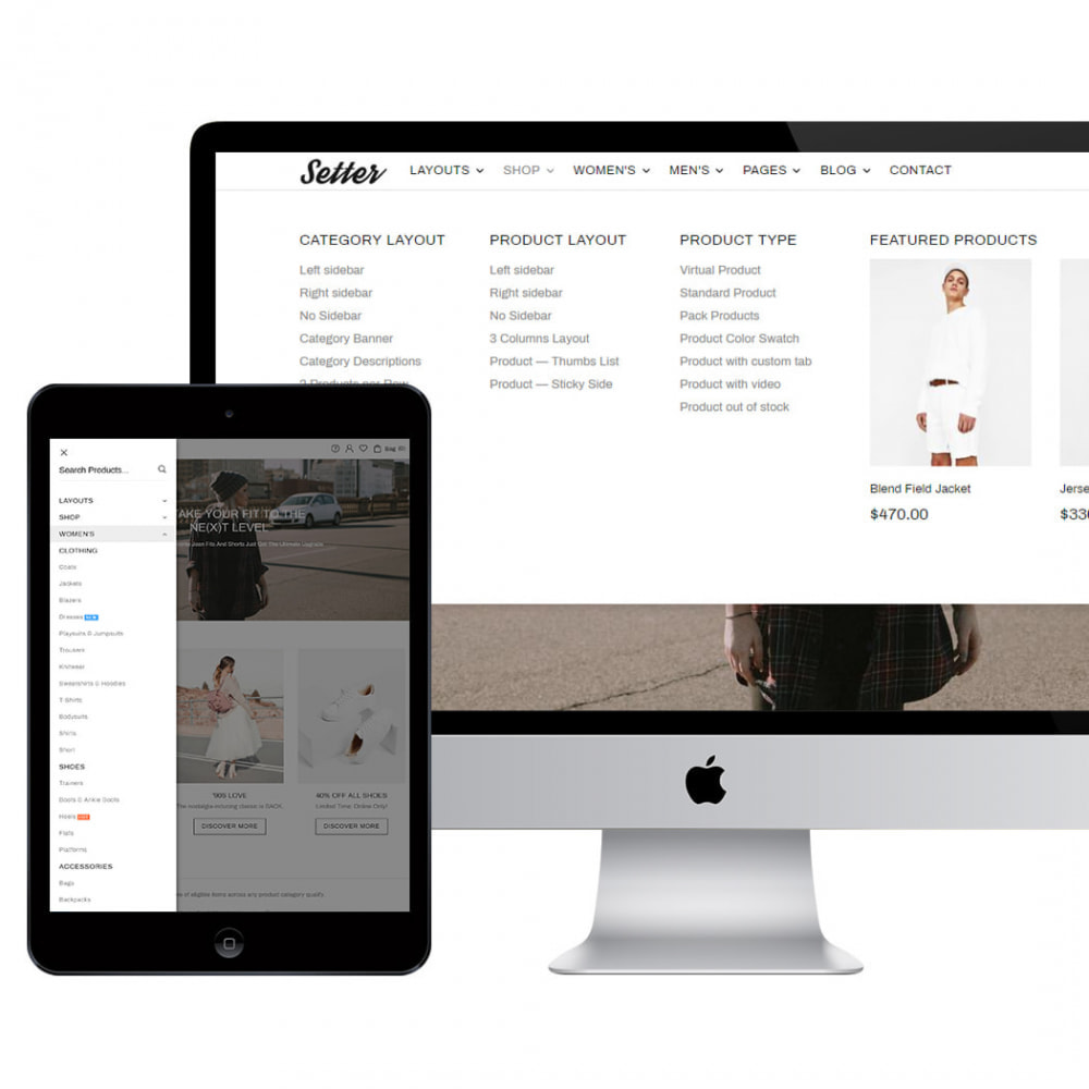 theme - Moda & Obuwie - Setter - Premium Fashion Theme - 2