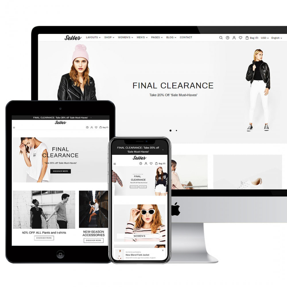 theme - Moda & Obuwie - Setter - Premium Fashion Theme - 3
