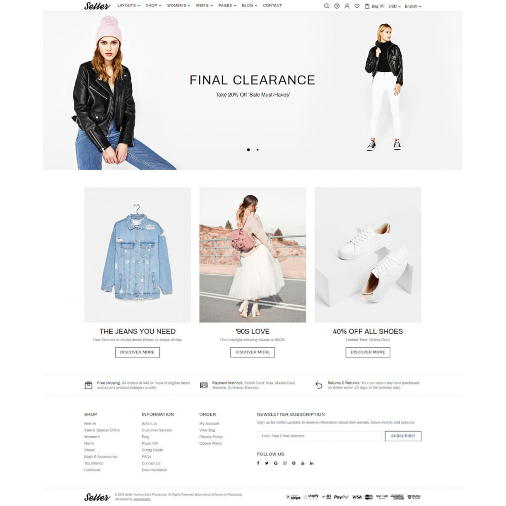 theme - Moda & Obuwie - Setter - Premium Fashion Theme - 8