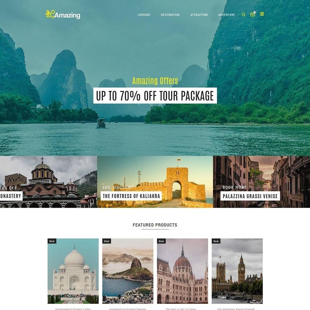 theme - Sport, Activiteiten & Reizen - Amazing Travel - Tours ticket Store - 3