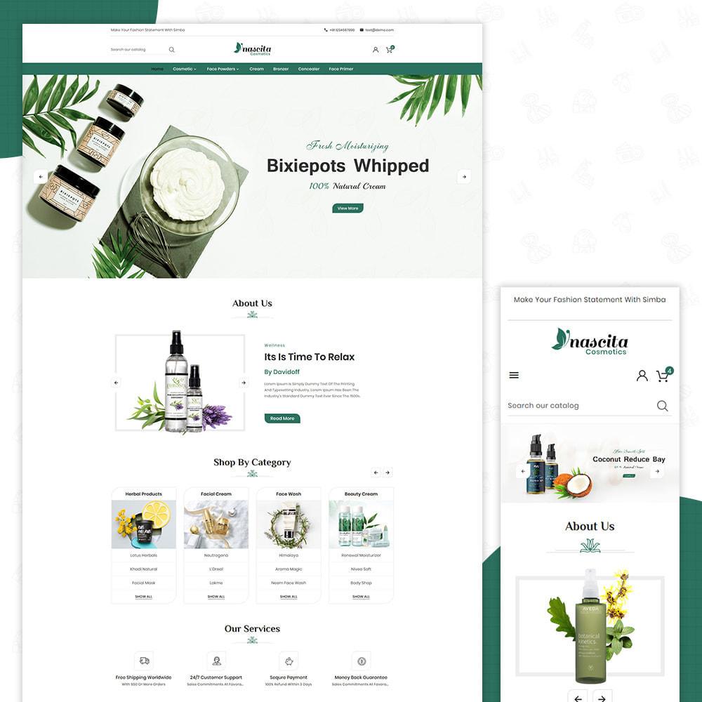 theme - Santé & Beauté - Cosmetics Nascita- Cosmeti Store Premium Theme - 1