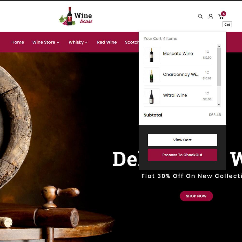 theme - Boissons & Tabac - Wine House – Wine Premium Store - 7