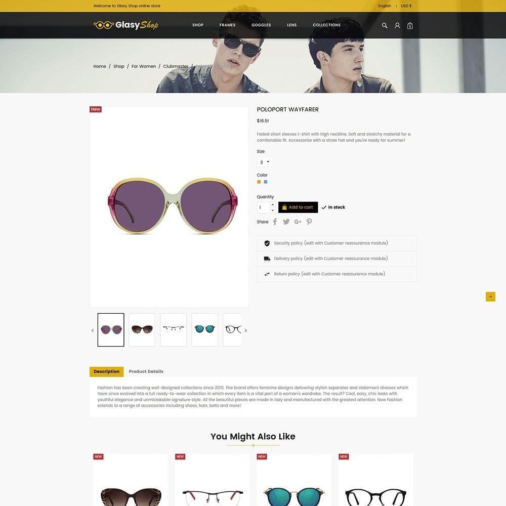 theme - Fashion & Shoes - Sun Glasses - Frames Goggles Lens Store - 5