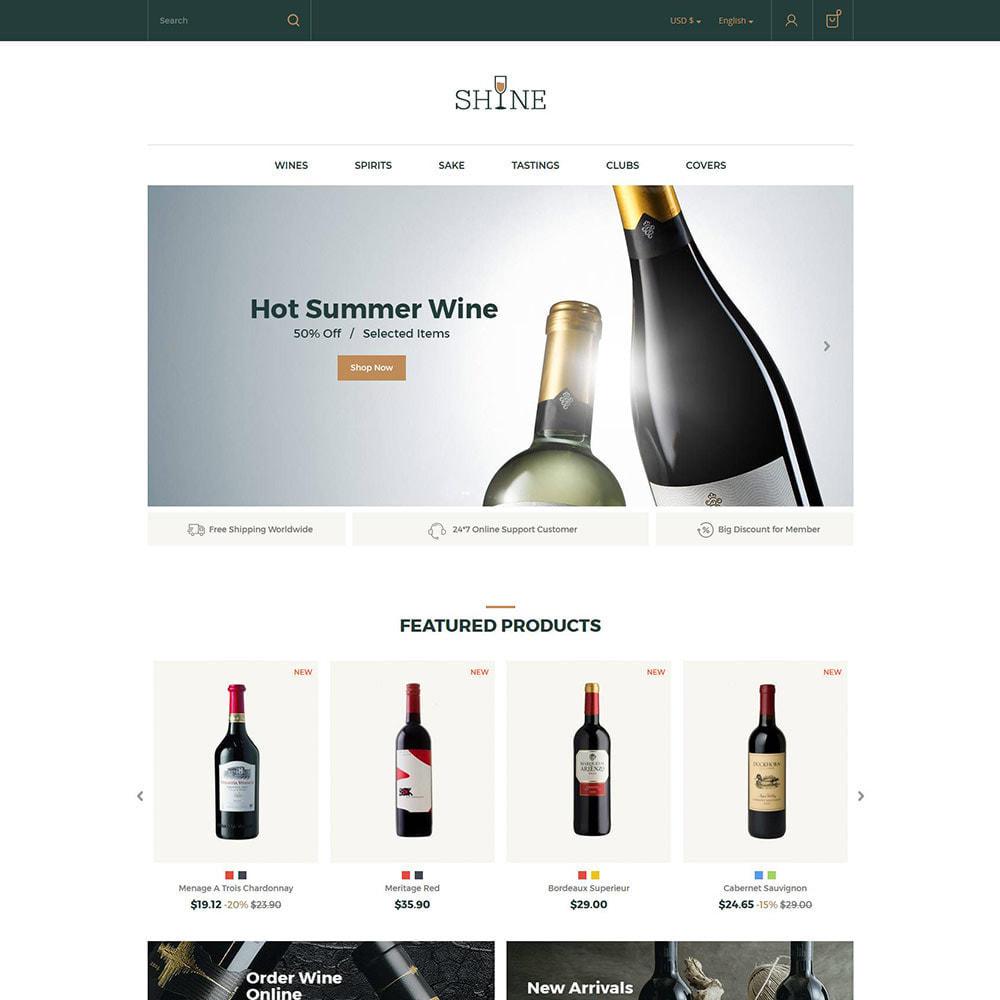 theme - Bebidas y Tabaco - Shine Wine - Tienda de alcohol - 4