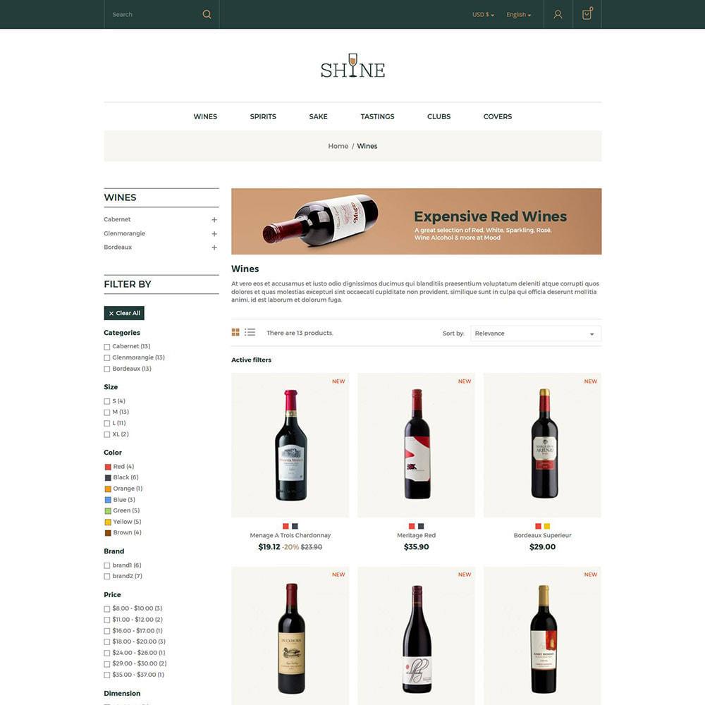 theme - Getränke & Tabak - Shine Wine - Alkoholgeschäft - 3