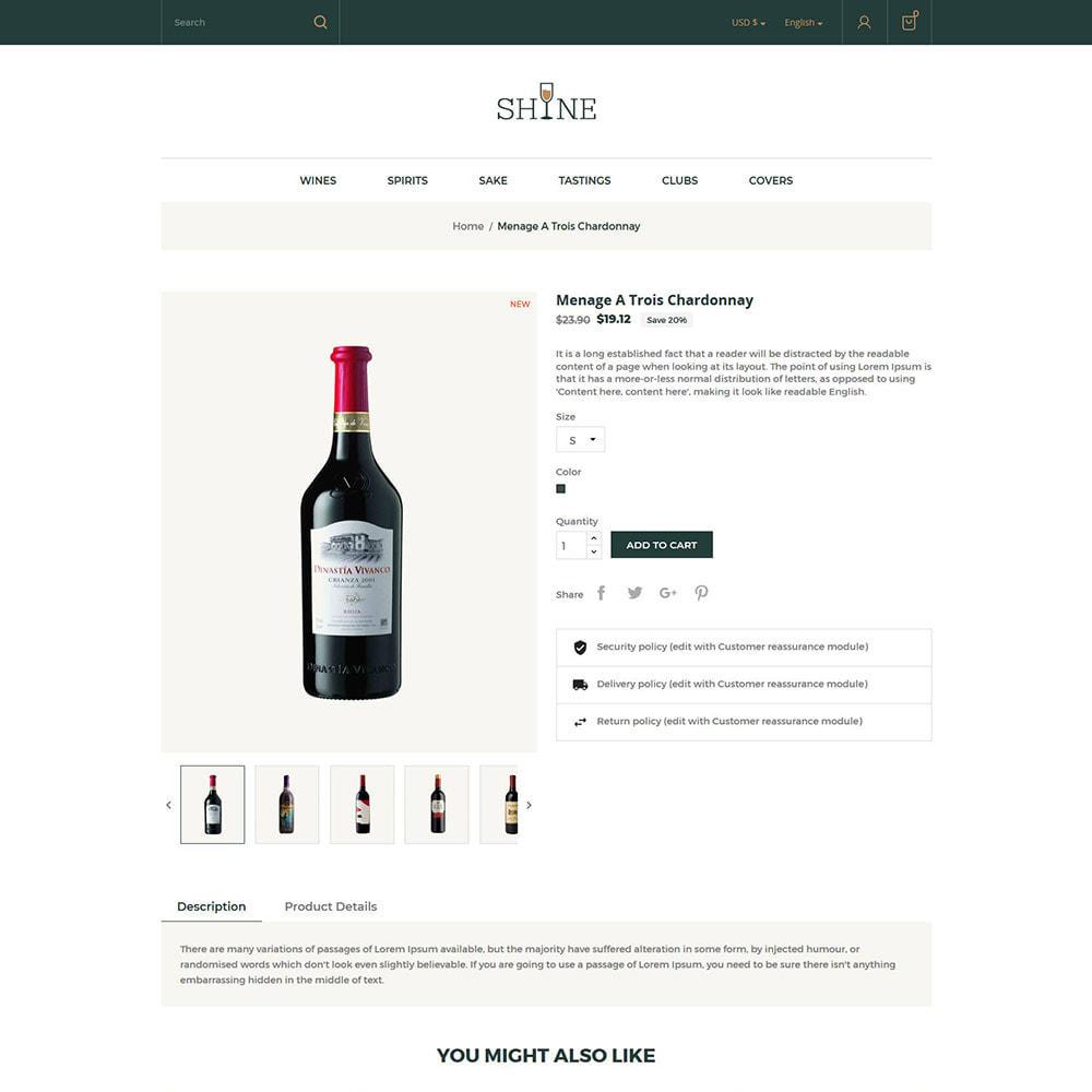 theme - Bebidas & Tabaco - Shine Wine - Loja de Álcool - 6