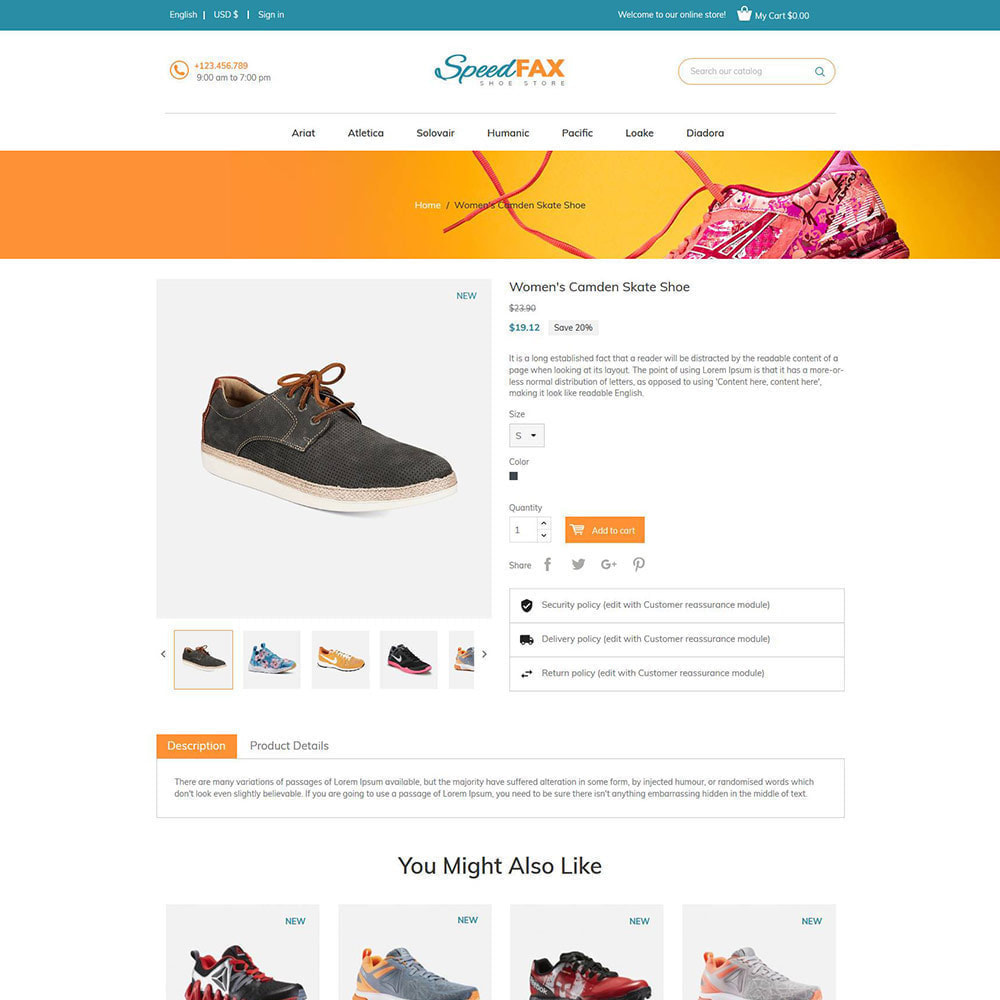 theme - Mode & Schoenen - Speed ​​Fax Shoes - Boot Store - 6