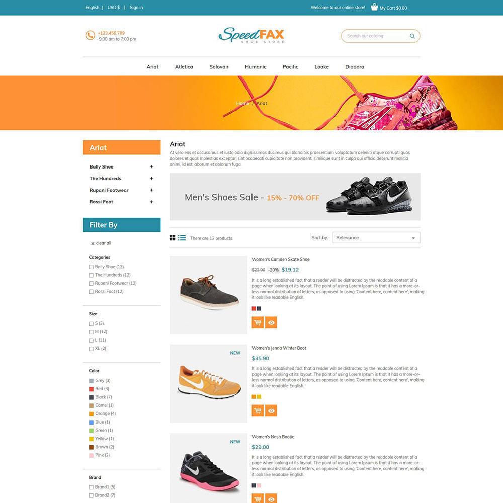 theme - Moda & Calçados - Sapatos de fax rápidos - Loja de botas - 5