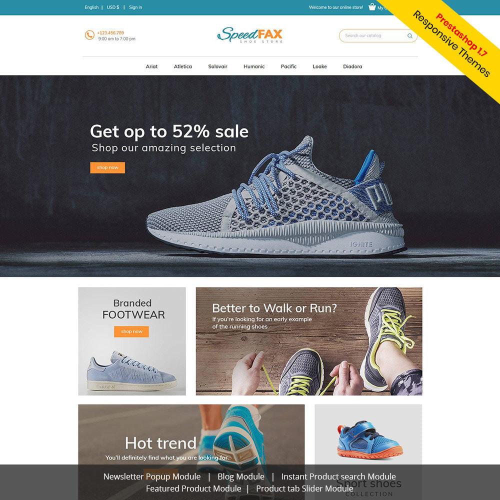 theme - Мода и обувь - Speed Fax Shoes - Загрузочный магазин - 2
