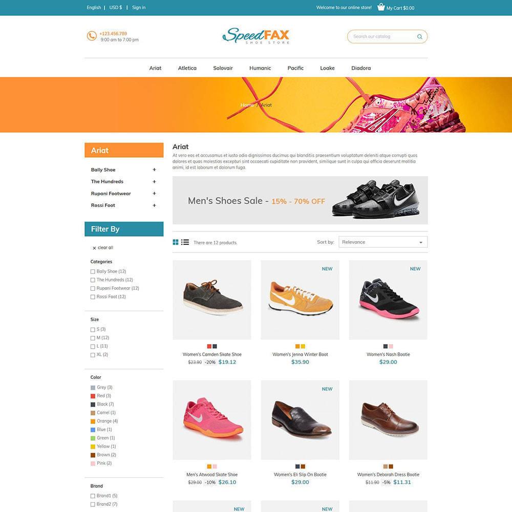 theme - Мода и обувь - Speed Fax Shoes - Загрузочный магазин - 3