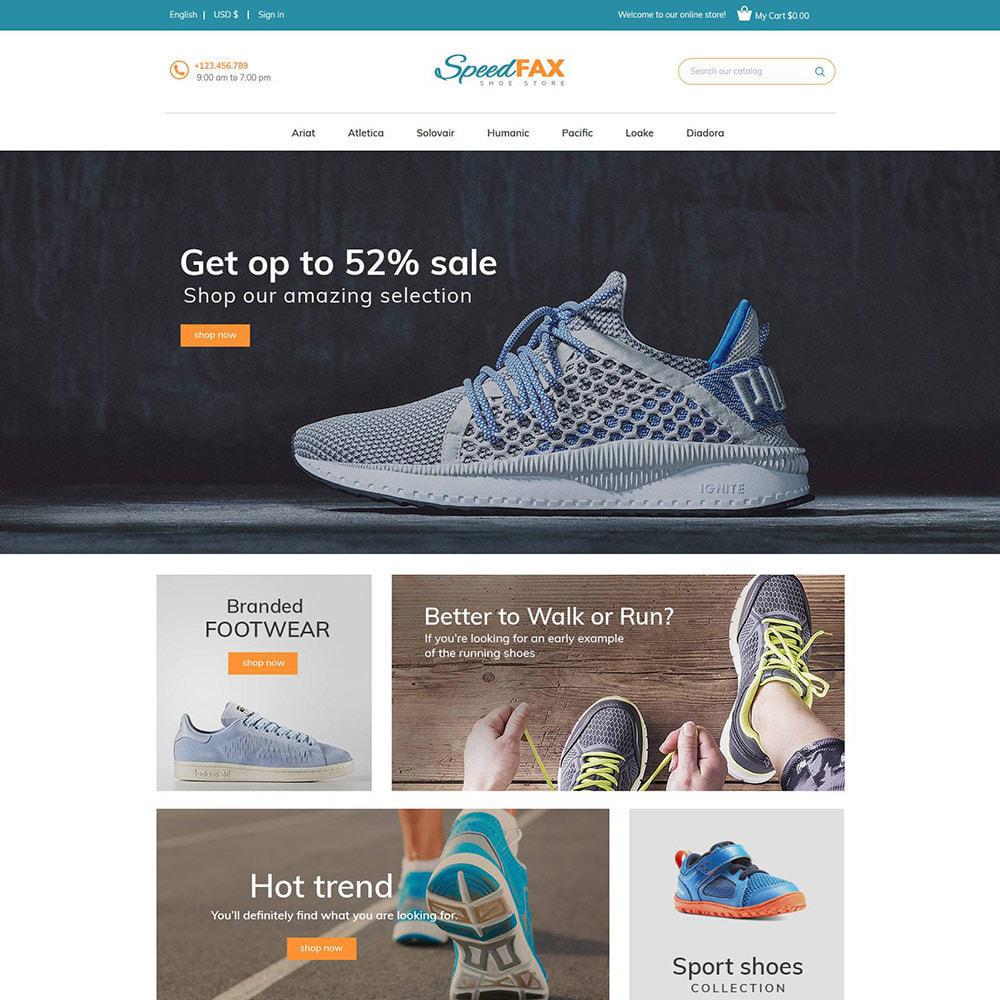 theme - Мода и обувь - Speed Fax Shoes - Загрузочный магазин - 4