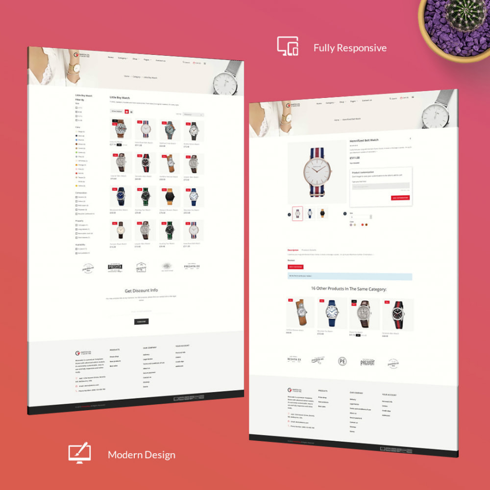 theme - Fashion & Shoes - Watchco - The Watch eCommerce Store - 3
