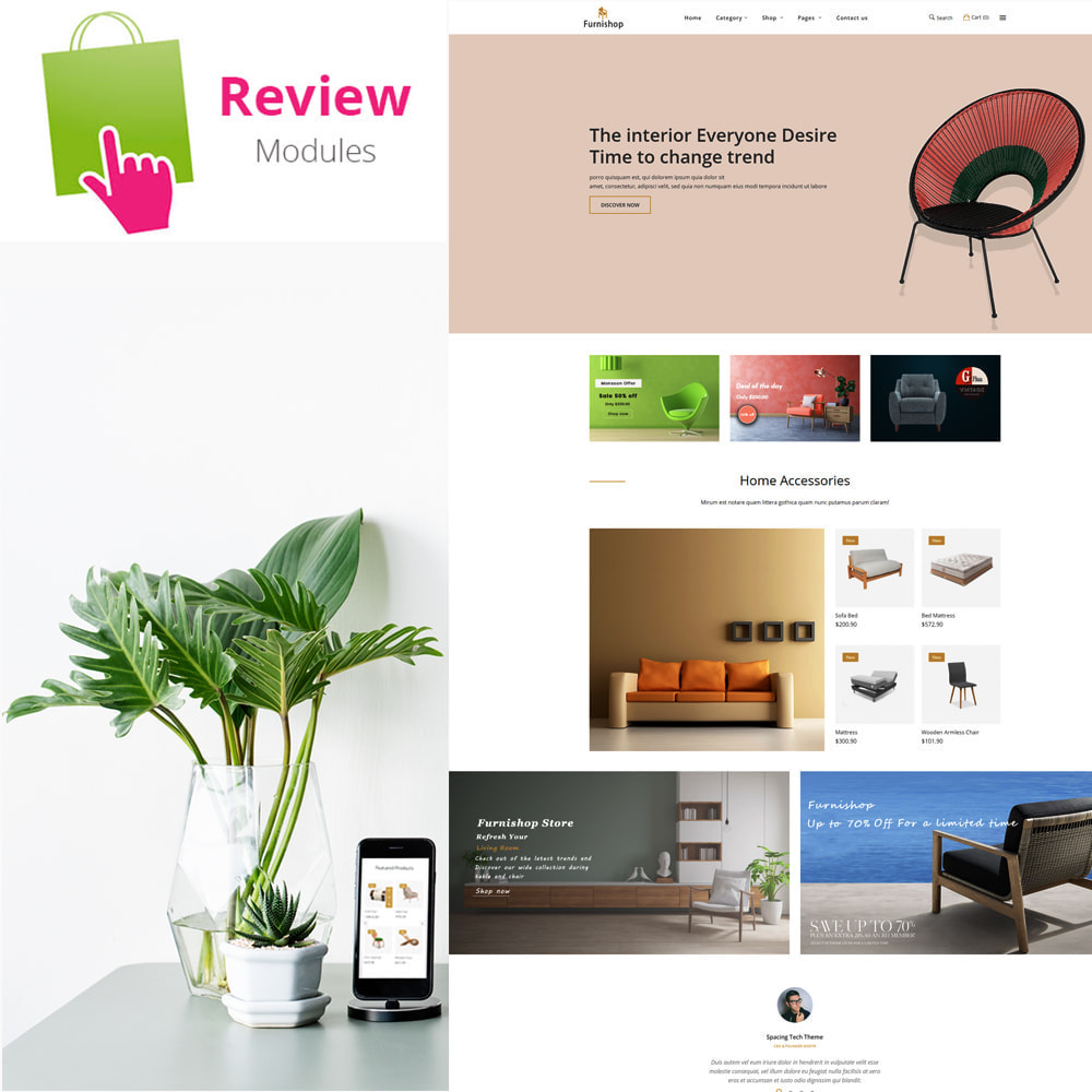 theme - Home & Garden - Furnishop - The Furniture eCommerce Store - 2