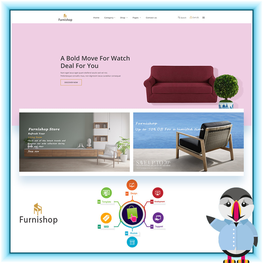 The Furniture ECommerce Store