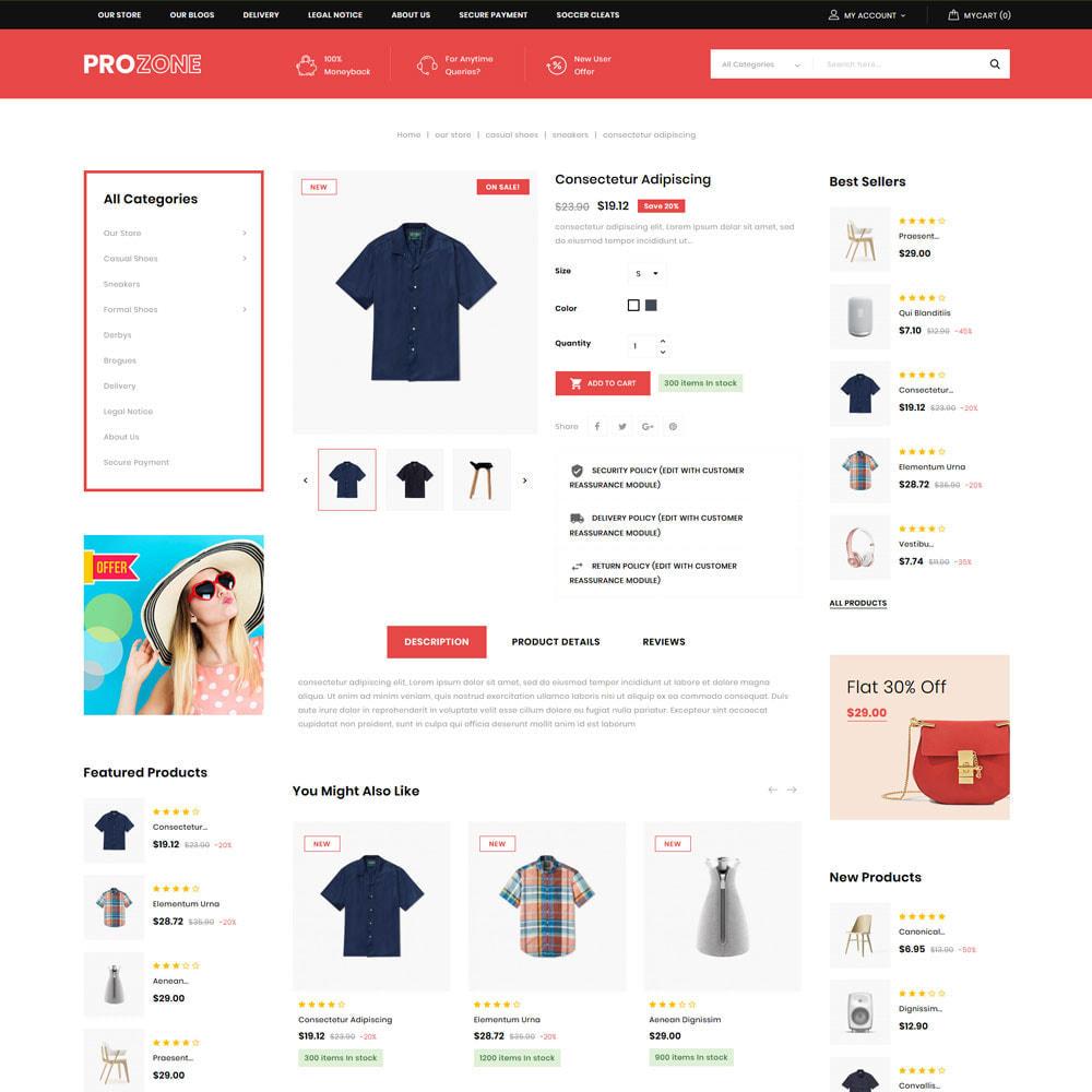 theme - Mode & Schuhe - Prozone - The Fashion Store - 7