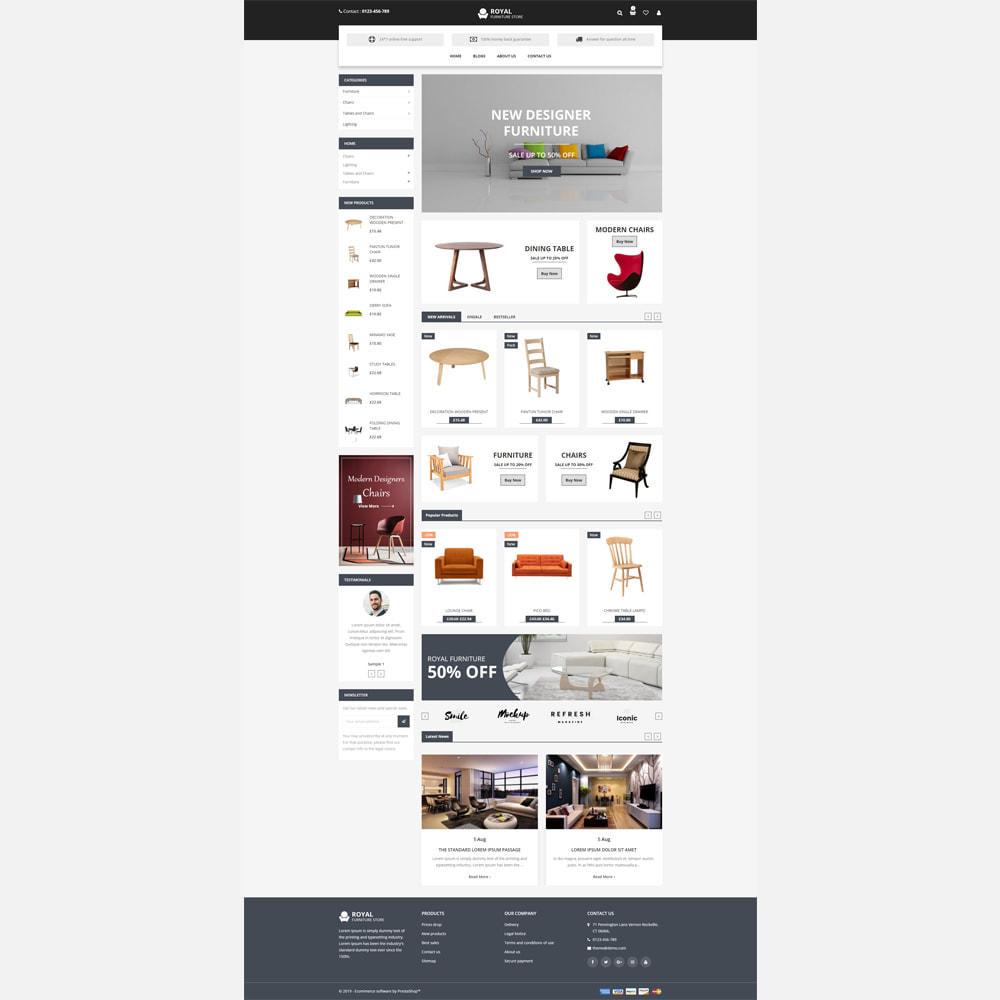 theme - Home & Garden - Furniture -  Responsive Store - 2