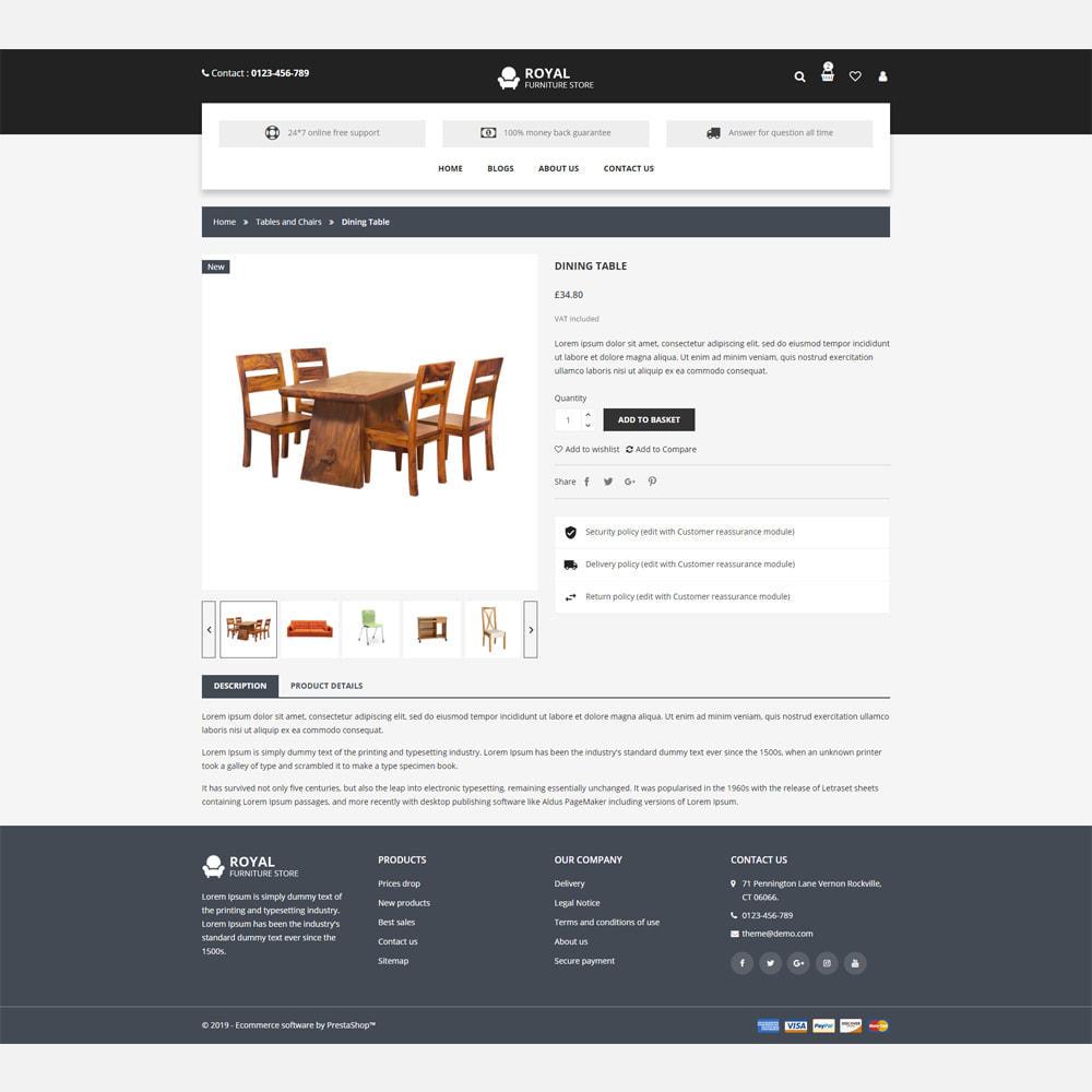 theme - Home & Garden - Furniture -  Responsive Store - 4