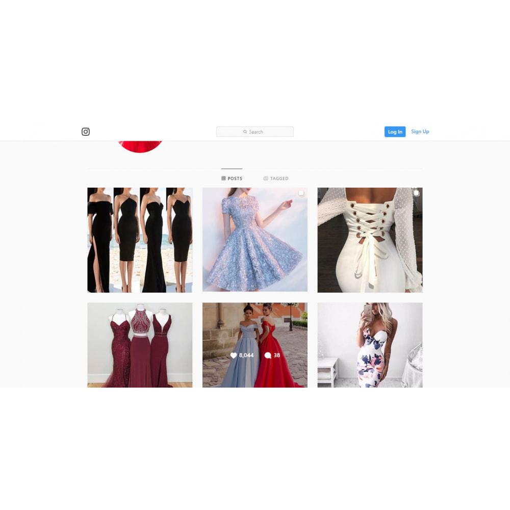 module - Silder & Gallerien - Instagram New API  Feed - 4
