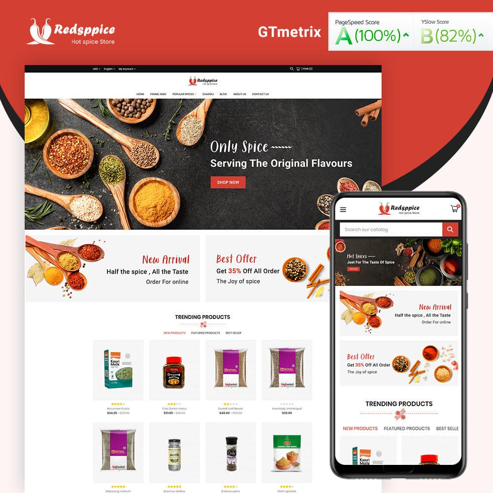 theme - Gastronomía y Restauración - Redsppice Spice Store - 1