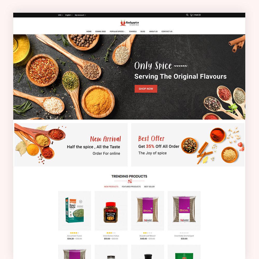 theme - Gastronomía y Restauración - Redsppice Spice Store - 2