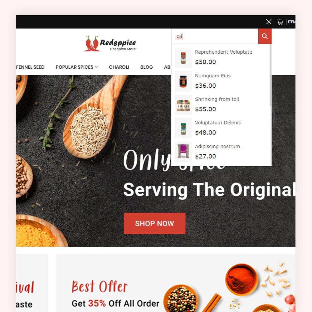 theme - Gastronomía y Restauración - Redsppice Spice Store - 3