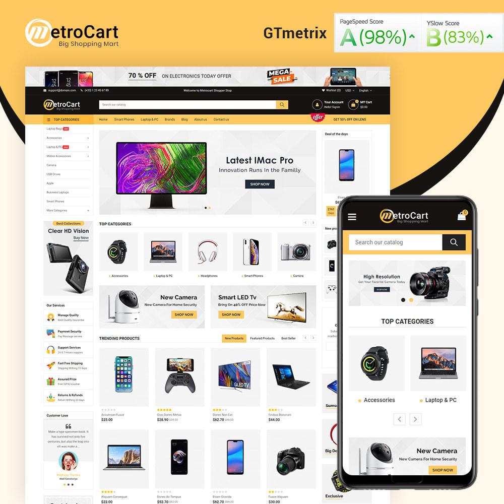theme - Electronique & High Tech - Metrocart Mega Electronics Store - 2